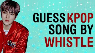 KPOP GAMES | GUESS KPOP SONG BY THE WHISTLE