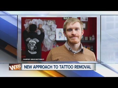 PhD student researching new tattoo removal technology