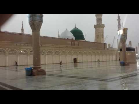 Subhan Allah Rain in Madina Sharif