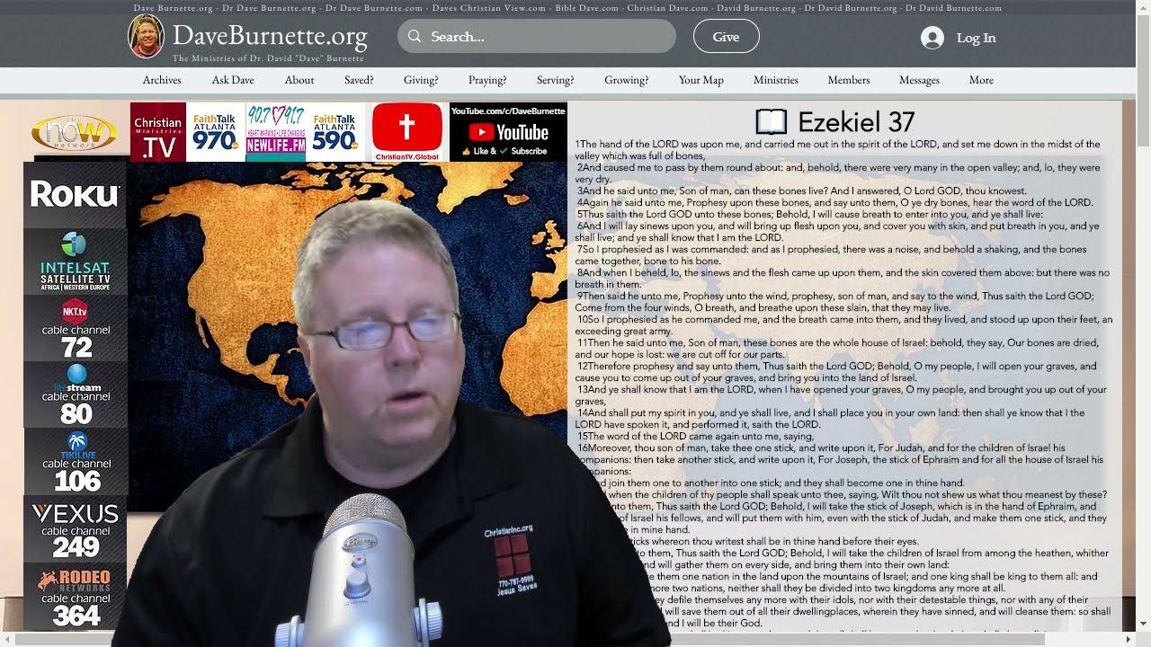 Ezekiel 37 ✒️ Dry Bones