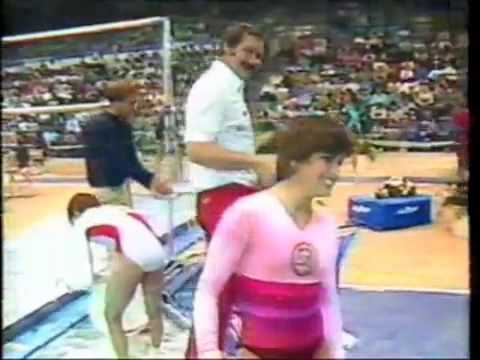 Mary Lou Retton - 1984 US Nationals AA - Uneven Bars
