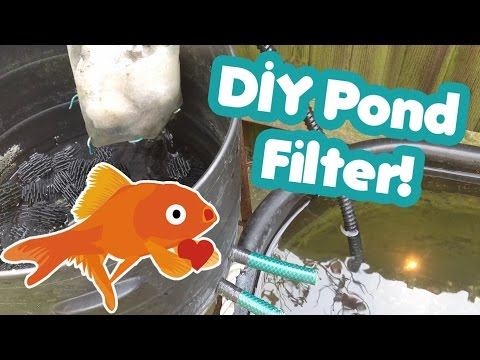 Diy home made cheap biological filter for your koi or g for Build your own koi pond filter