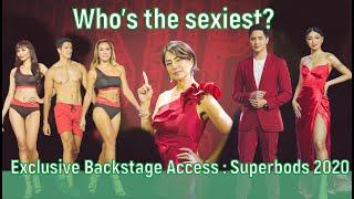 Who's the sexiest? Exclusive Backstage Access : Superbods 2020 // Alice Dixson