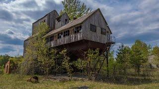 """Chernobyl. село Зимовище - МТС (машинно-тракторная станция) и """"Элеватор"""""""