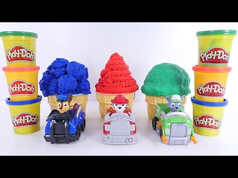 Thumbnail: Learning Colors with Paw Patrol Play Doh Ice Cream Videos for Children, Toddlers, Babies