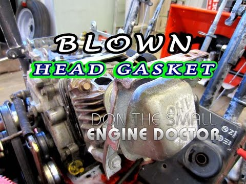 Symptoms Of A Blown Head Gasket On A Small Engine