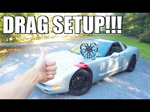 CUSTOM Forged Wheels For The Project C5!!! **With Drag Slicks**