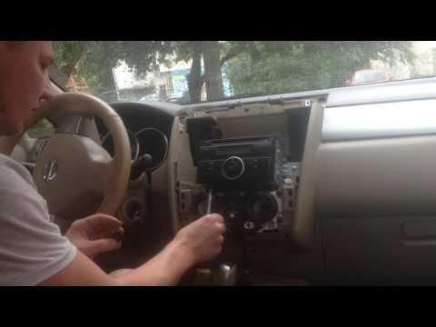 Nisan Tiida 07.Если не работает или плохо нажимается кнопка кондиционера или подогрев заднего стекла