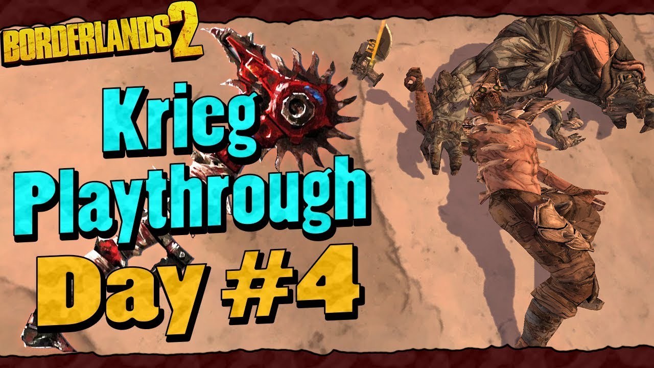 Borderlands 2 | Krieg Reborn Playthrough Funny Moments And
