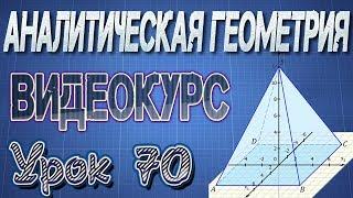 70. Решение задач на линейные операции над векторами
