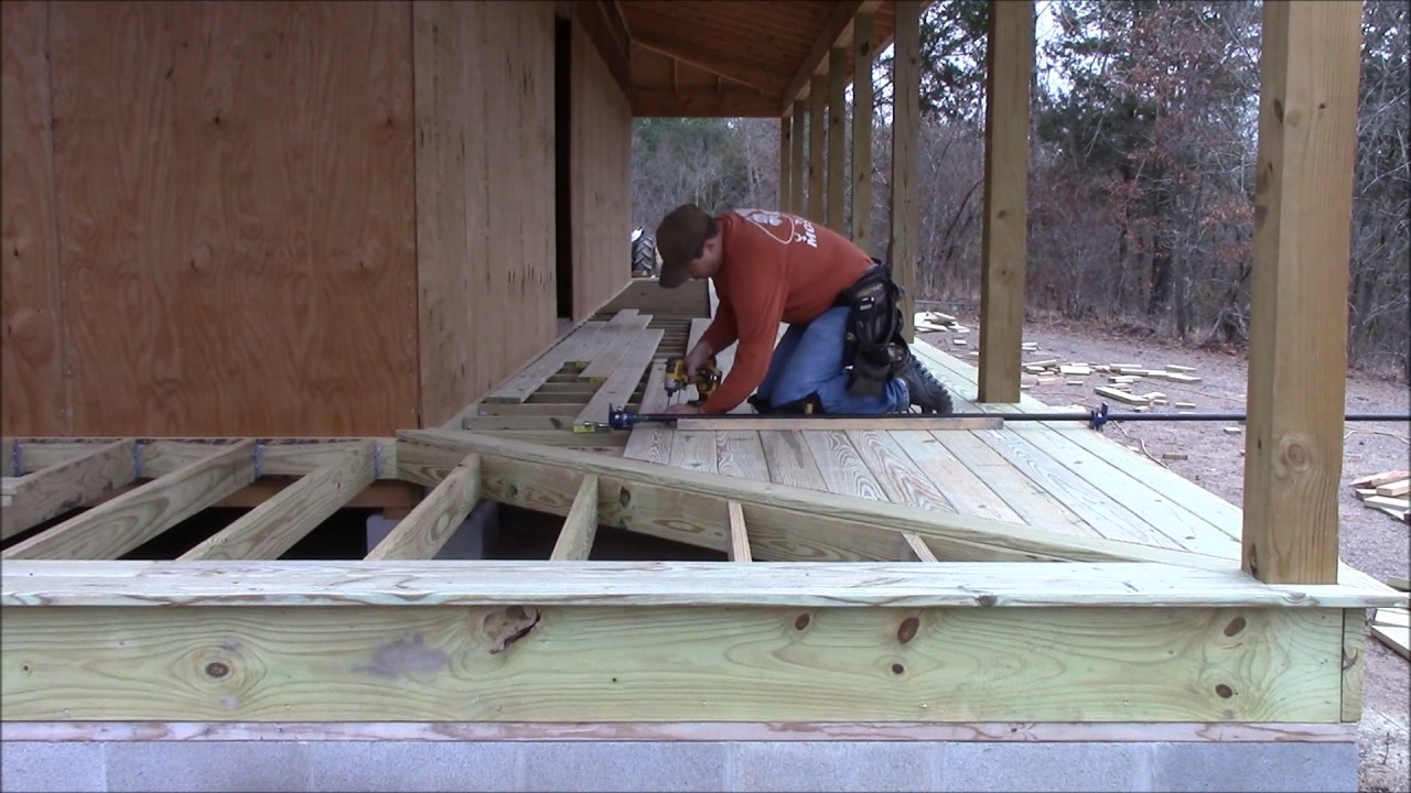 Building My Own Home Episode 54 Full Wrap Around Porch