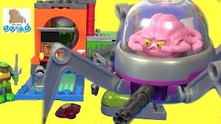 Черепашки Ниндзя Мультик! TURTLE LAIR BATTLE КРЭНГ НАПАДАЕТ! TMNT Игры для Мальчиков