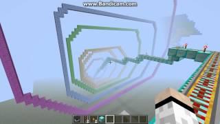 my little pony roller coaster rainbow dashes crash minecraft