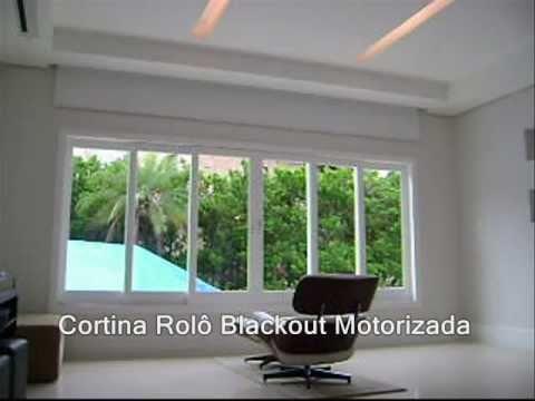 Cortina Luxaflex Rolo Automatizada 11 22626409  YouTube