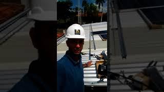 Sistema Solar Fotovoltaico Jaguariúna 3,15kWp parte 2