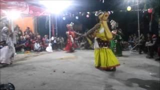 Bhairab Dance (Kumari/Devi)/Pokhara Nepal /8th March 2016/Hamro Sangam Park Mohariya Tole