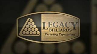 Legacy Billiards Presentation Video: Best Pool Tables & Billiard Tables