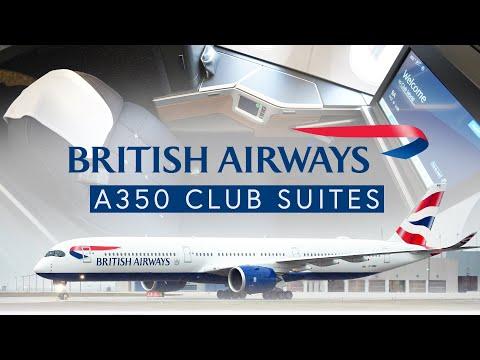 British Airways A350 Club Suites - Toronto To Heathrow