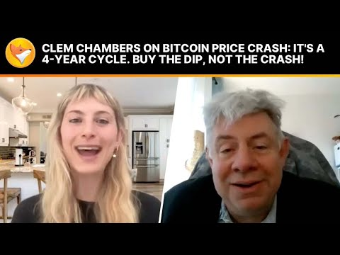 #FinancialFox Clem Chambers on Bitcoin Price crash: It's a 4-year cycle. Buy the dip, not the crash!