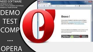 Opera le navigateur Web gratuit, rapide et innovant !
