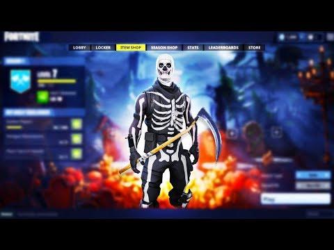 The NEW Fortnite HALLOWEEN SKINS.. (Skull Trooper Coming Back)