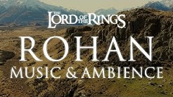 Lord of the Rings Music & Ambience   Rohan Theme Music with Mountain Wind Ambience