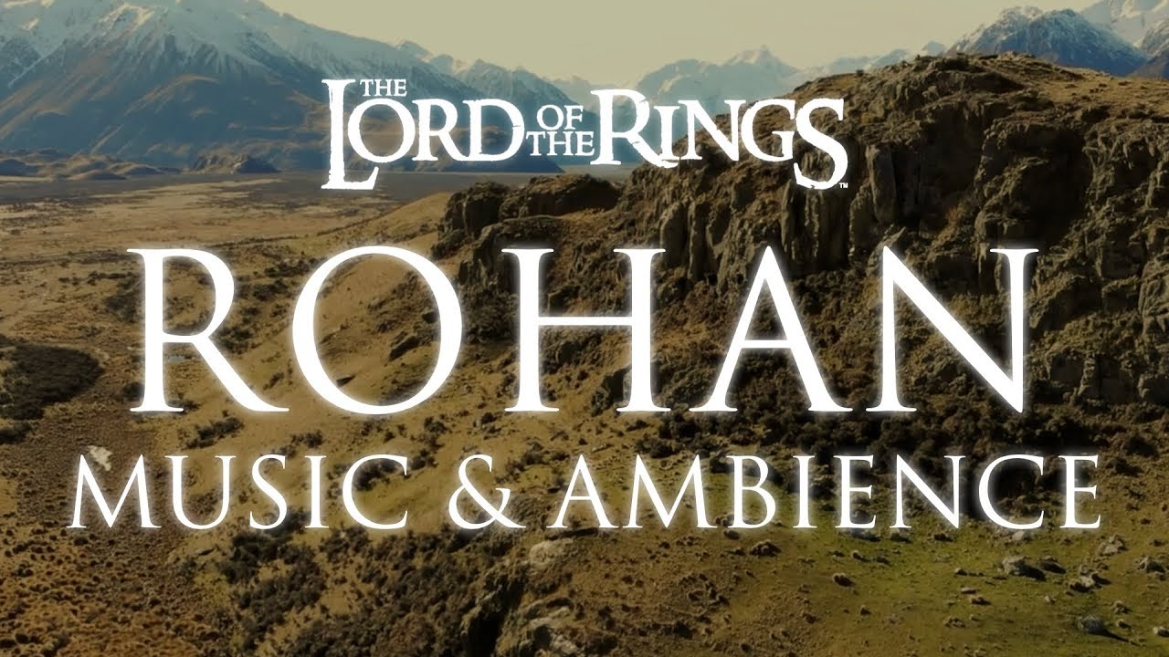 Download Lord of the Rings Music & Ambience | Rohan Theme Music with Mountain Wind Ambience