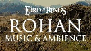 Lord of the Rings Music & Ambience| Rohan - Mountain Wind Ambience