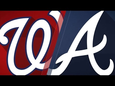 4/20/17: Strasburg, Zimmerman lead Nats past Braves