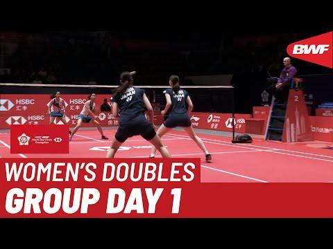 Group B | WD | MATSUMOTO/NAGAHARA (JPN) Vs. KITITHARAKUL/PRAJONGJAI (THA) | BWF 2019