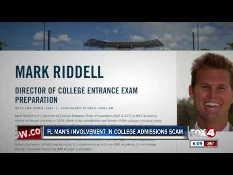 Mark Riddell, suspended IMG Academy director allegedly took exams for students in cheating scandal