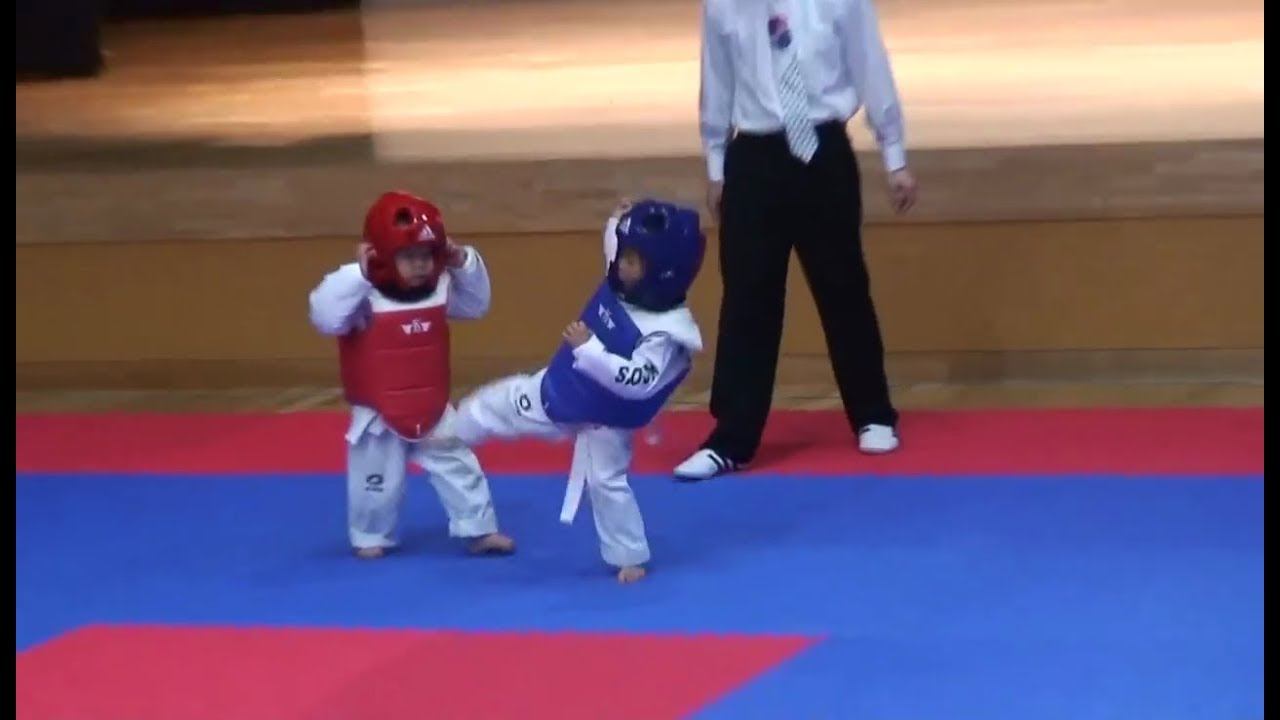 The Best Taekwondo Fight EVER!!!! The Cutest Thing Ever ...