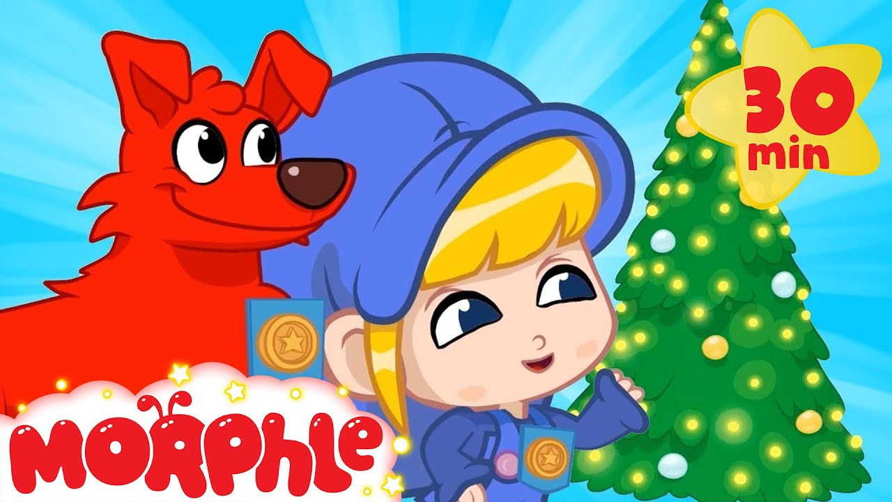 Magic Morphle Saves Christmas - My Magic Pet Morphle | Christmas Cartoons For Kids | Mila & Morphle