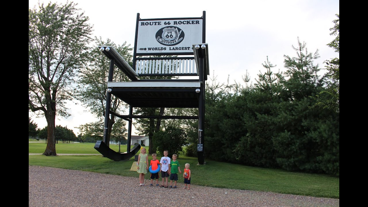 World S Largest Rocking Chair Youtube