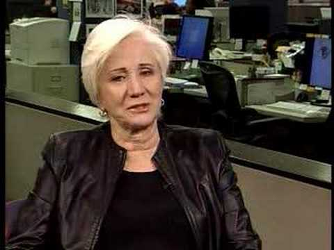 The Chicago Tribune Visits With Olympia Dukakis