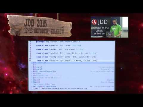 JDD2015 - Reactive database mapping with Scala and Slick (Ja