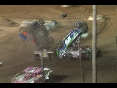 Big Diamond Speedway Double Sportsman Flip - 5/13/2011