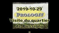 2019-10-29 Visite du quartier de Bussigny - Suisse
