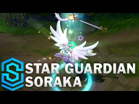 Star Guardian Soraka Skin Spotlight - League of Legends