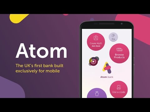 Welcome to Atom bank