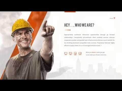 FAST Powerpoint Template ~ Construction