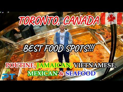 TORONTO CANADA - Must Try POUTINE & CARIBBEAN FOOD