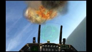 Falcon 4 BMS Dogfights, F-16 vs SU30 and Mig29