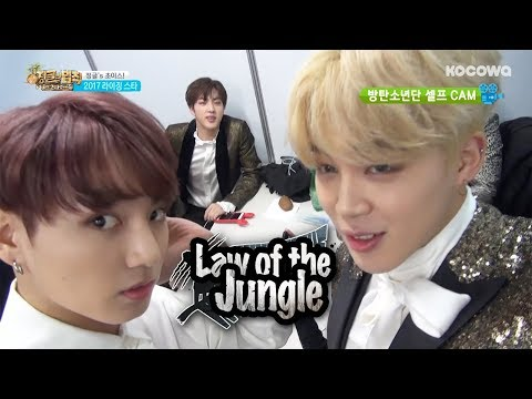 Jin(BTS) is Nervous About going to the Jungle~[Law of the Jungle Ep 247]