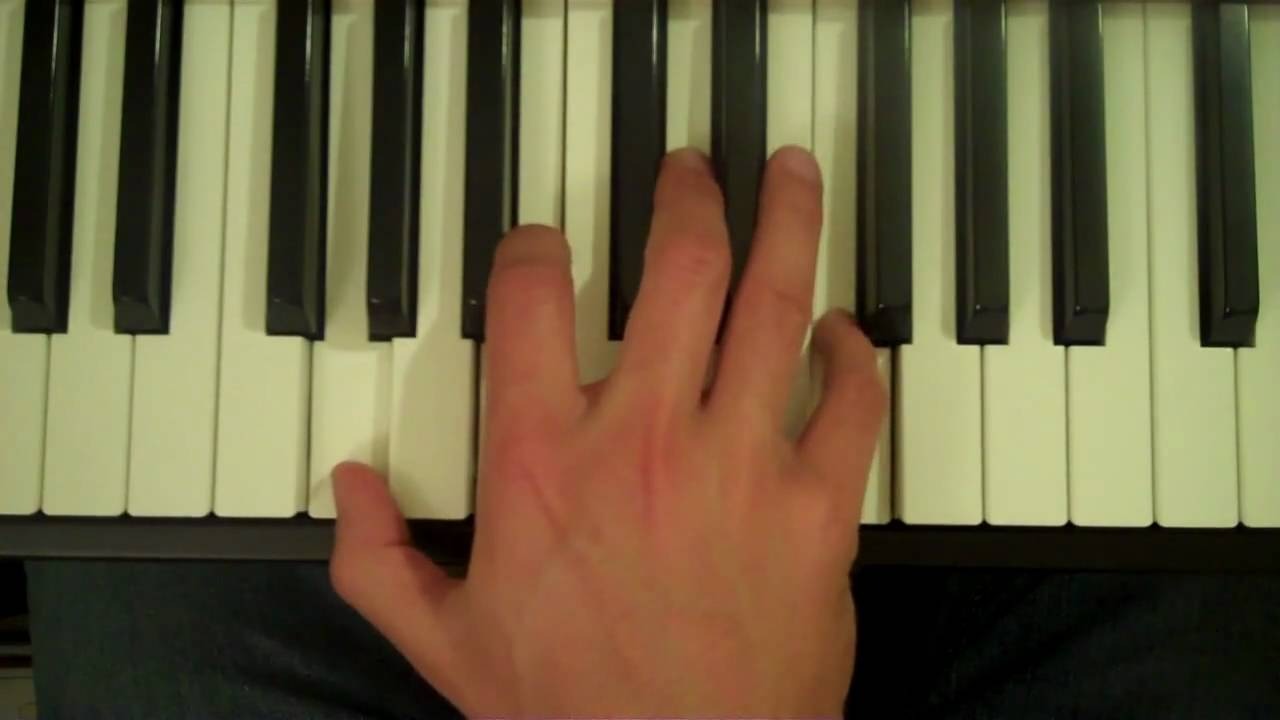 How To Play a G15 Chord on the Piano
