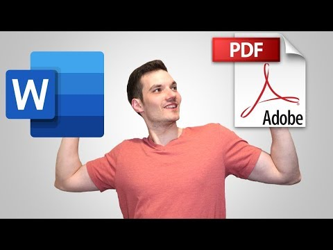 How To Convert Microsoft Word Document To PDF Format