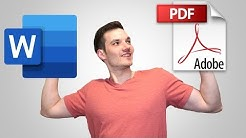 How to Convert Word to PDF