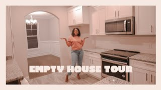 EMPTY HOUSE TOUR| OUR FIRST HOME!!!