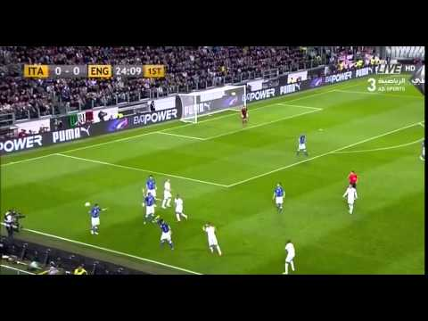 Italy vs England 1-1 International Friendly First Half Full Match HD