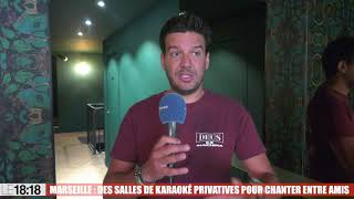 Marseille : des salles de karoké privatives pour chanter entre amis